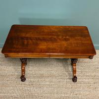 Stunning Antique Mahogany Library Table by Charles Hindley & Sons (6 of 8)
