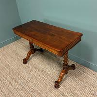 Stunning Antique Mahogany Library Table by Charles Hindley & Sons (2 of 8)