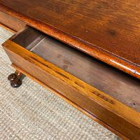 Stunning Antique Mahogany Library Table by Charles Hindley & Sons (5 of 8)
