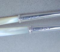 Cased Pair of George V Silver Pickle Forks by Adie & Lovekin, Birmingham 1912 (4 of 4)
