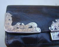 Victorian Silver & Leather Purse by Frederick Wich, Birmingham 1898 (6 of 9)