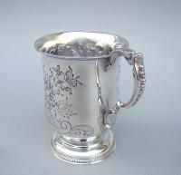 Victorian Silver Christening Mug by Hilliard & Thomason, Birmingham 1877 (5 of 6)