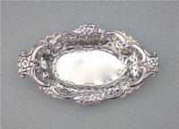 Delightful Edwardian Silver Bonbon Dish by Samuel L Levi, Birmingham 1907