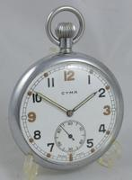 Cyma Gstp British Military Wristwatch C.1940