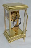 Four Glass Mantel Clock by Marti of Paris c.1900 (5 of 5)