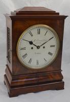Fusee Bracket Clock by Savory, Cornhill, London