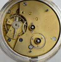 1919 Kendal & Dent Silver Pocket Watch (3 of 3)