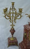 French Candelabra Clock Set c.1895 (2 of 6)
