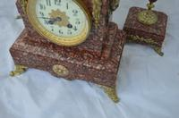 French Candelabra Clock Set c.1895 (3 of 6)