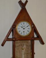 Admirol Fitzroy Victorian Clock Barometer (5 of 5)