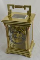 Rare 'Giant' Striking Carriage Clock, Original Box & Key (3 of 5)