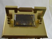 Rare 'Giant' Striking Carriage Clock, Original Box & Key (5 of 5)