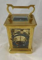 French Striking Carriage Clock c.1895 (2 of 4)