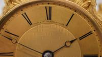Viner & Co London Ormolu Fusee Mantel Clock (5 of 5)