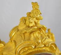 Viner & Co London Ormolu Fusee Mantel Clock (2 of 5)