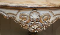 Pair of Painted Console Tables c.1880 (4 of 8)