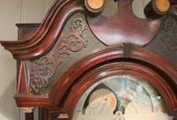 Mahogany & Inlay Centre Seconds Longcase Clock, England c.1790 to c.1800 (7 of 16)