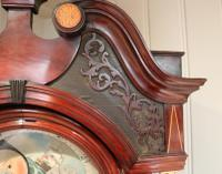 Mahogany & Inlay Centre Seconds Longcase Clock, England c.1790 to c.1800 (8 of 16)