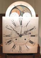 Mahogany & Inlay Centre Seconds Longcase Clock, England c.1790 to c.1800 (9 of 16)