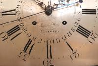 Mahogany & Inlay Centre Seconds Longcase Clock, England c.1790 to c.1800 (10 of 16)