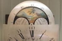 Mahogany & Inlay Centre Seconds Longcase Clock, England c.1790 to c.1800 (2 of 16)