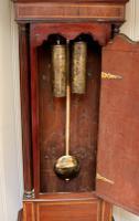 Mahogany & Inlay Centre Seconds Longcase Clock, England c.1790 to c.1800 (15 of 16)