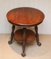 Circular Oak Table c.1910 (5 of 8)