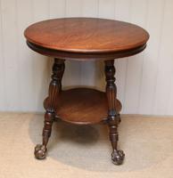 Circular Oak Table c.1910 (6 of 8)