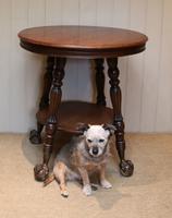 Circular Oak Table c.1910 (8 of 8)