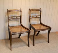 Set of Six Regency Cane Seat Chairs (2 of 8)