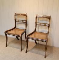 Set of Six Regency Cane Seat Chairs (4 of 8)
