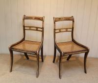 Set of Six Regency Cane Seat Chairs (6 of 8)