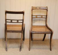 Set of Six Regency Cane Seat Chairs (8 of 8)