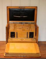 Edwardian Oak Writing Box