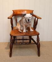 Elm & Beech Bow Armchair c.1880 (5 of 8)