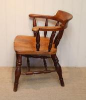 Elm & Beech Bow Armchair c.1880 (2 of 8)