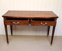 Late Victorian Mahogany Side Table (3 of 9)