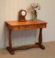 Satinwood Lyre End Table c.1890 (2 of 8)