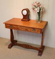 Satinwood Lyre End Table c.1890 (3 of 8)