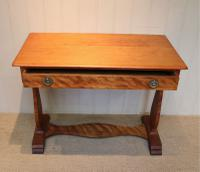 Satinwood Lyre End Table c.1890 (4 of 8)