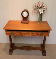 Satinwood Lyre End Table c.1890 (7 of 8)