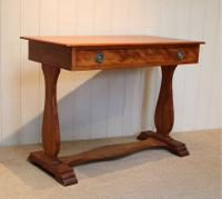 Satinwood Lyre End Table c.1890 (8 of 8)