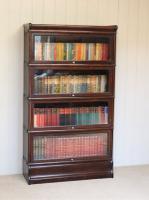 Dark Oak Globe Wernicke Bookcase C.1910 (3 of 11)