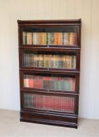Dark Oak Globe Wernicke Bookcase C.1910 (5 of 11)