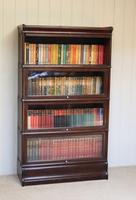 Dark Oak Globe Wernicke Bookcase C.1910 (9 of 11)
