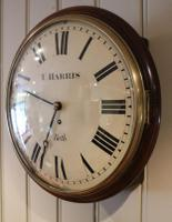 Regency Convex Fusee Dial Clock (4 of 8)