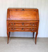 French Cherry Wood Bureau (4 of 9)