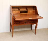 French Cherry Wood Bureau (5 of 9)