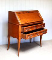 French Cherry Wood Bureau (6 of 9)