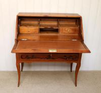 French Cherry Wood Bureau (7 of 9)